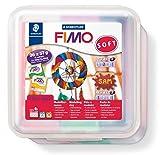 Staedtler FIMO Soft, Pack de 26 pains de pâte à modeler FIMO, À cuire au four...