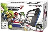 Ce pack contient : La console Nintendo 2DS noire et bleue Le jeu Mario Kart 7 préinstallé Contact du support de Nintendo : 01 34 35 46 01