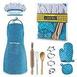 KITY Kit de Cuisine et de Pâtisserie pour Enfants, Jouet Enfant 3-8 Ans...