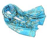 prettystern peinture foulard de soie 160cm van Gogh oeuvres d'art de...