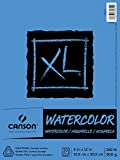 Canson XL Series Watercolor Pad, 9' x 12', Fold-over cover, 30 Sheets...