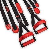 Lifeline Jungle Gym Suspension Trainer System – Split Anchor Design for More Exercise Options –...