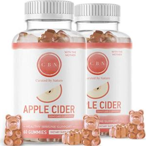 (2-Pack) Nutritional Apple Cider Vinegar Gummies, Immunity Boosting Formula with The Mother - Healthy, Tasty Gummy Bears (120 Included) Made with Natural Ingredients, Acetic Acid, Great Tasting 1 - My Weight Loss Today