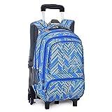 Maleta trolley para estudiantes masculinos y femeninos, mochila juvenil, maleta con ruedas desmontable, mochila trolley-A6round