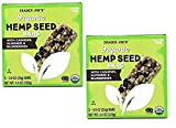 Trader Joe's - Organic Hemp Seed Bars with Cashews, Almonds and Blueberries - 2-Pack