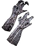 Rubie's Alien Vs Predator: Alien Deluxe Adult Latex Hands Gray One Size
