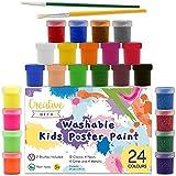 Creative Deco Peinture Lavable Enfant Multi-Colores | 24 Pots x 20 ML |...