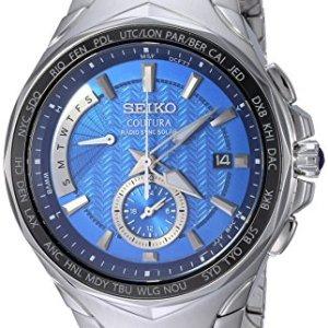 Coutura Men's Radio Sync Solar Dual Time Watch 4