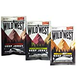 Wild West Jalapeno Natural Beef Jerky 70 Grams Pack - 2