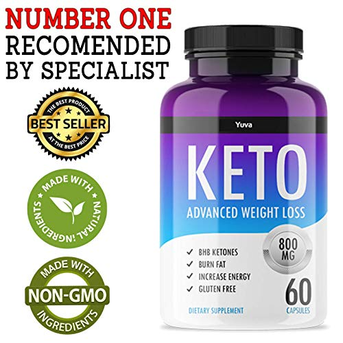 QFL Yuva Keto Diet Pills - Utilize Fat for Energy with Ketosis - Boost Energy & Focus, Manage Cravings, Support Metabolism - Keto BHB Supplement for Women and Men - 90 Day Supply 5