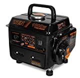 WEN 56105 1000-Watt Portable Generator, CARB Compliant, 1,000 Watts