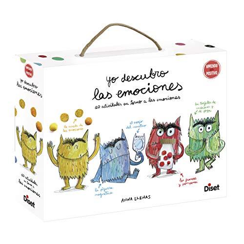 Diset- Yo descubro Las emociones - Juego educativo para aprender las emociones a partir de los 3 años