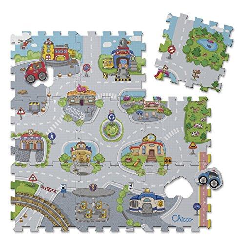 Chicco Tappeto Puzzle, Citt, 7163