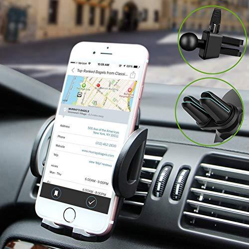 Rwest X Handyhalterung Auto Smartphone Halterung KFZ Handy Halter für Auto...