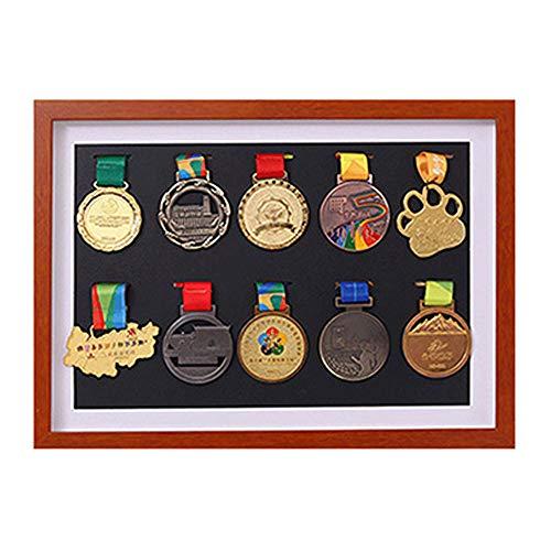 xj Vitrina del gabinete de la Caja de la Sombra para Las medallas Militares/Medalla del colector/Pin de la Solapa Vitrina del gabinete de la Caja de la Sombra/Caja del gabinete de la Caja para
