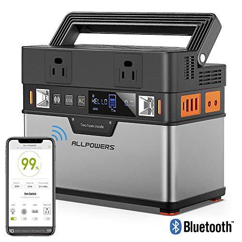 ALLPOWERS Portable Power Station Portable Generator...