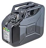 Bidon à carburant 10L, noir, en métal Arnold 6011-X1–2001