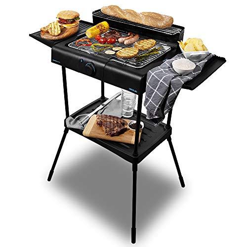 Cecotec Barbecue elettrica PerfectCountry BBQ con Potenza di 2000 W e Rivestimento RockStone (con...