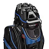 Founders Club Premium Cart Bag with 14 Way Organizer Divider Top (Blue Black)