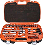 ESCHER U 7294/55 Surtido combinados de 55 herramientas, naranja-gris