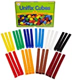 Pack of 300 in 10 Colors The industry's Gold Standard in math manipulatives! Unifix cubes represent 'units' and link in one direction Ideal for patterning, grouping, sorting, counting, numbers, addition, subtraction, multiplication, division and meas...