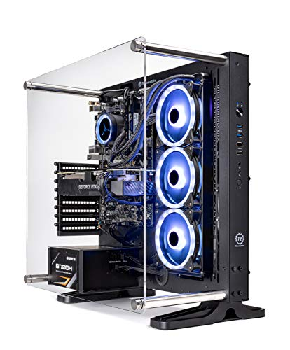 Skytech Supremacy Gaming Computer PC Desktop  Intel I7 9700K 3.6GHz, RTX 2080 Super 8G, 1TB NVME, 16GB DDR4 3000MHz, RGB Fans, Windows 10 Home 64-bit, 802.11AC Wi-Fi