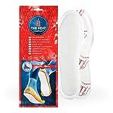 THE HEAT COMPANY Semelles Chauffantes Adhésives - EXTRA CHAUD - 8 heures de chaleur - chaleur immédiate - autochauffante - purement naturel - SMALL Taille: 36-40 - 5 paires