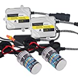 HSUN H7 HID Kit de conversion, Avec phare de voiture Fit H7 de ballast...