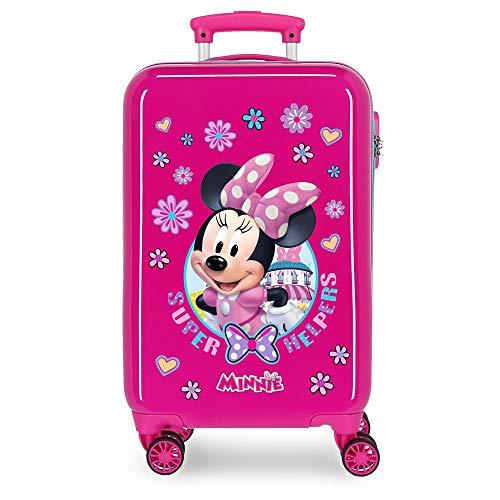 Disney Super Helpers Valigia per bambini 55 centimeters 37.4 Rosa