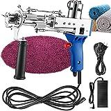 Carpet Tufting Gun, Carpet Weaving Machine Flocking Machine Knitting Machine Industrial Embroidery MachineHand-Held Electric Punch Tools (Cut Pile)