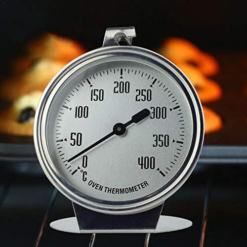 Waroomss 0-400 ℃ Termometro da Forno in Acciaio Inox,termometri da Forno in Acciaio Inox con...