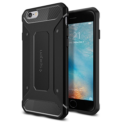【Spigen】 iPhone6s ケース/iPhone6 ケース 対応 TPU 耐衝撃 米軍MIL規格取得 カプセル ウルトラ ラギッド...