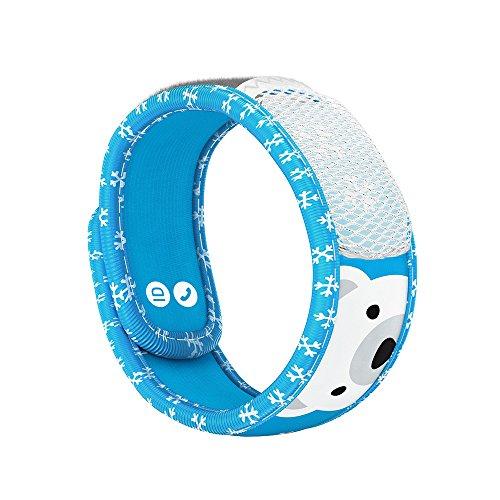 PARA'KITO Bracelet Enfant Anti-moustiques - Polar Bear