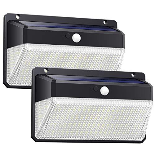Luce Solare Led Esterno328LED Lampada SolareAggiornato Versione Ultra LuminosaLampade Solari a Led...