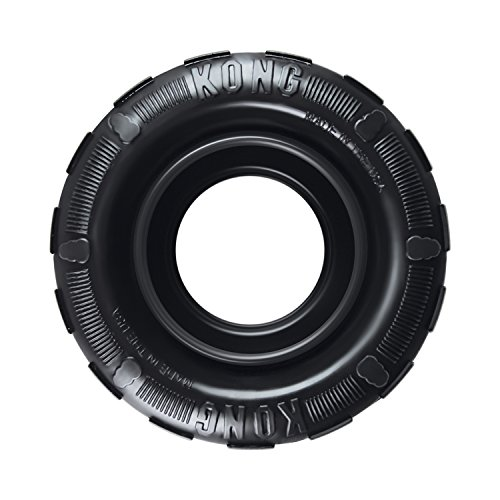 KONG - Tires - Durable Rubber Chew Toy and Treat...