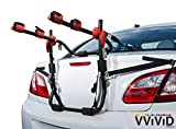 VViViD Deluxe Sport 2-Bike Cushioned Trunk Mounted Carrier Rack