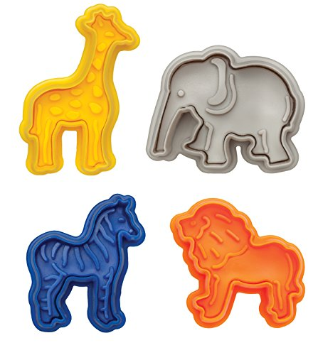 Animal Cracker Cookie Cutters