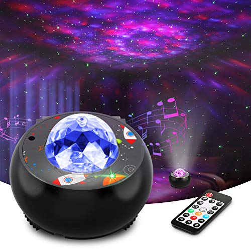 Riarmo Galaxy Star Projector, [2020 Upgraded] Night Light Projector...