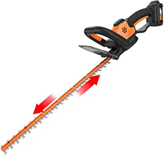 WORX WG261 20V Power Share 22-Inch Cordless Hedge Trimmer, Battery and Charger..
