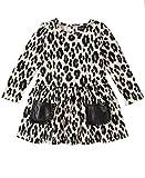Calvin Klein Baby Girls Dress, Animal Print, 24M