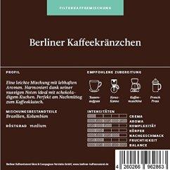 Berliner Kaffeerösterei Berliner Kaffeekränzchen