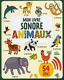 Mon imagier sonore - animaux