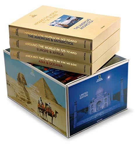National Geographic. La Vuelta Al mundo En 125 Años, 3 vol.