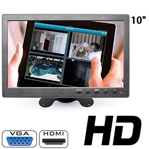 MONITOR 10.1 POLLICI LCD HDMI VGA HD BNC PER AUTO PER VIDEOSORVEGLIANZA