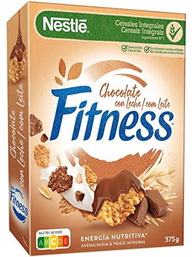 Cereales Nestlé Fitness Chocolate con Leche - 1 paquete de