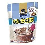 森永製菓 牛乳で飲むココア 200g×4個 [栄養機能食品] カルシウム、ビタミンD、鉄