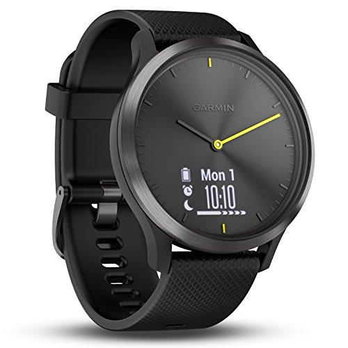 Garmin vívomove HR - Elegante reloj inteligente híbrido con monitor...