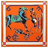 Bellette 130x130cm Pauelo de Seda para Mujer,Pauelos Bandanas,Cabeza Cuello Bufanda,Estolas y...