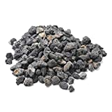 Stanbroil 10 Pounds Lava Rock Granules for Fire Bowls,Fire Pits,Gas Log Sets, and Indoor or Outdoor Fireplaces - Medium (1/2'- 1')