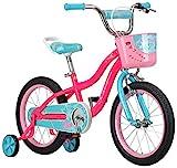 Schwinn Elm Girls Bike for Toddlers and Kids, 16-Inch Wheels, Pink